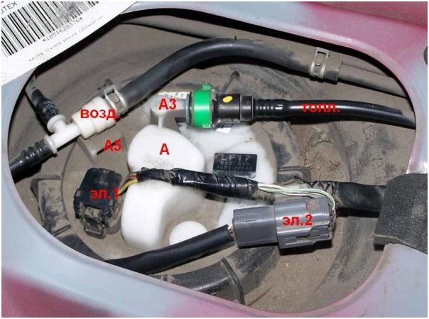 Топливный фильтр Mazda CX-5