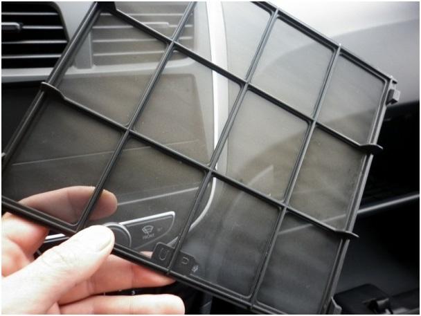 Сетка-фильтр для очистки воздуха, поступающего в салон Hyundai Solaris