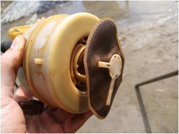 Фильтр-сетка, входящая в состав топливного модуля