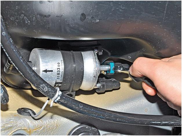 Топливный фильтр Volkswagen Jetta