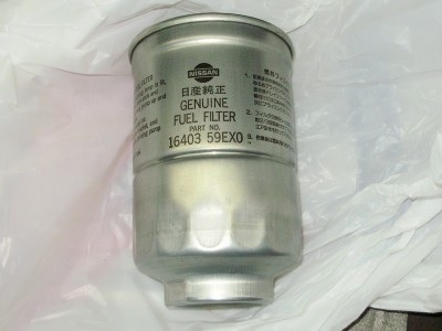 Оригинальный топливный фильтр для дизельного Ниссан Патрол
