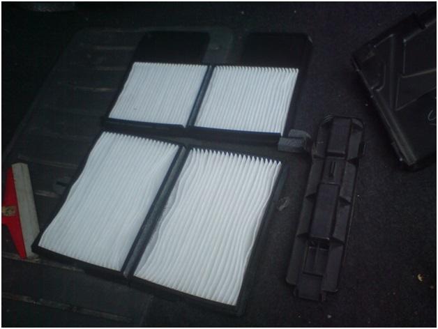 Салонный фильтр автомобиля Тойота Карина Е