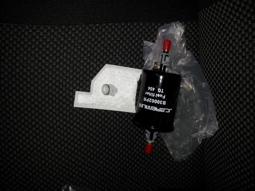 Внешний вид фильтра тонкой очистки и сеточки