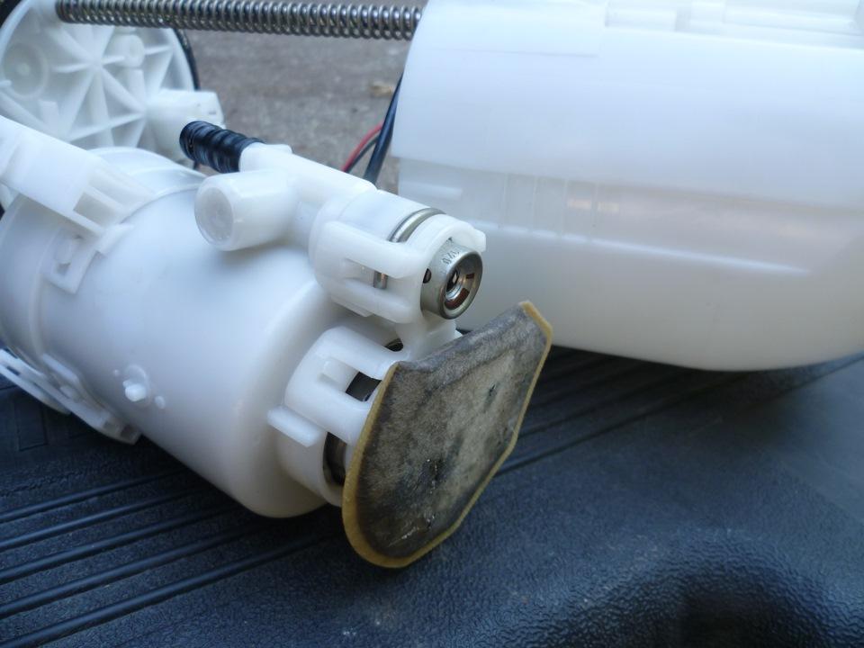 Топливный фильтр на ASX