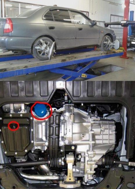 Масляный фильтр Hyundai Accent