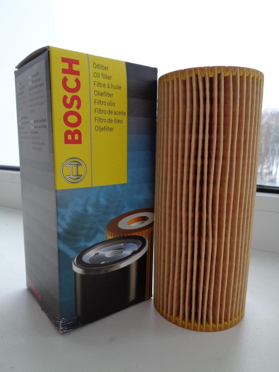 Масляный фильтр Bosch и его упаковка