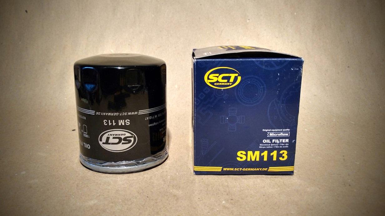 Масляный фильтр SCT