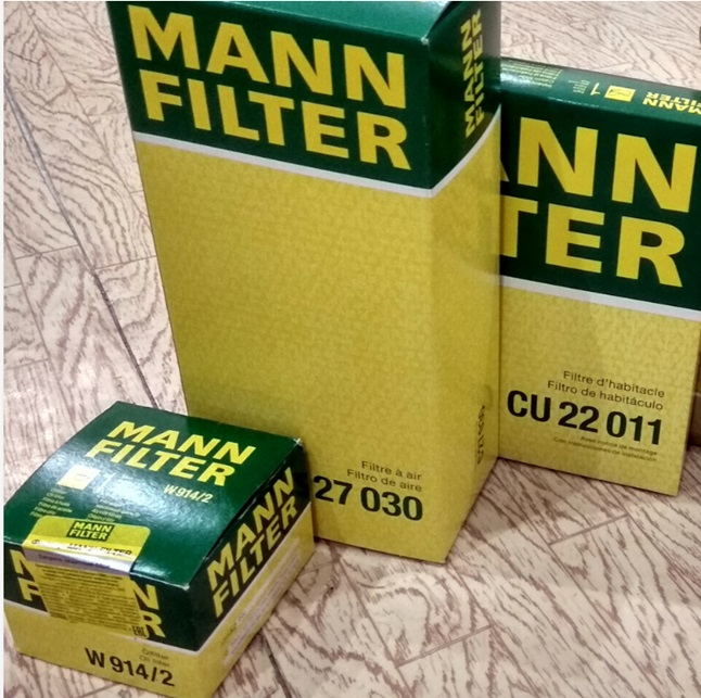 Упаковка фильтра Mann