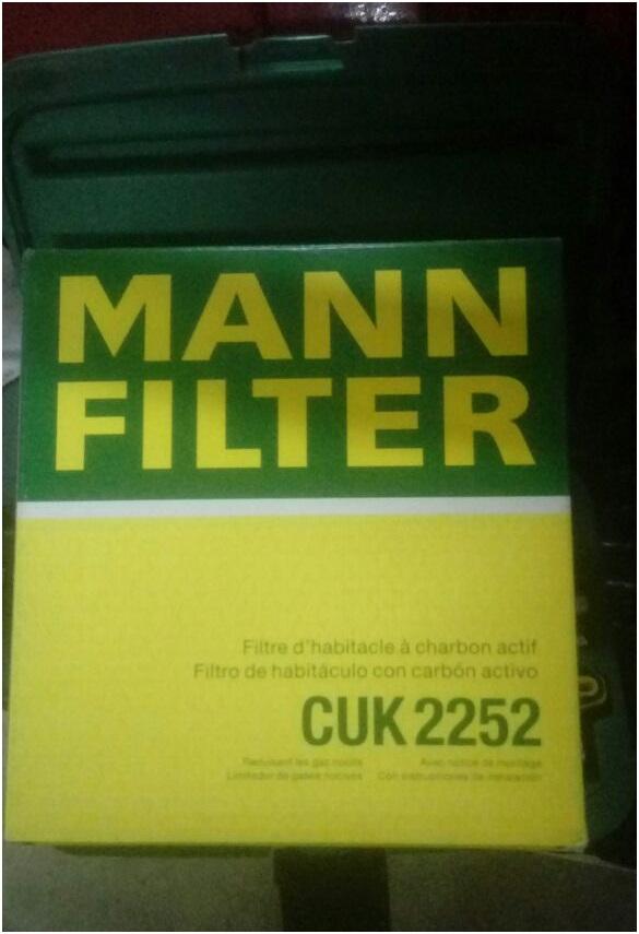 Упаковка от фирменного фильтра