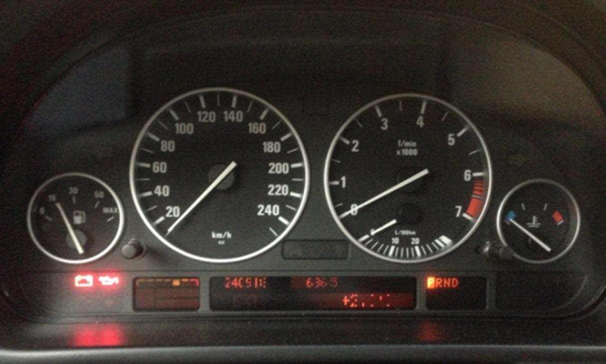 Панель BMW e39