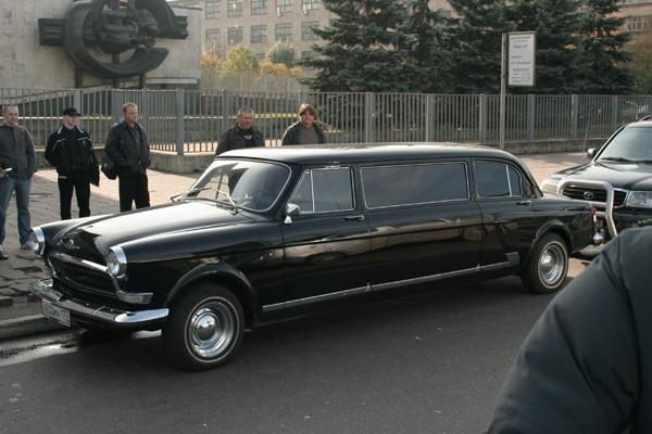 Удлинённый ГАЗ-21 Волга. Теперь это полноценный лимузин