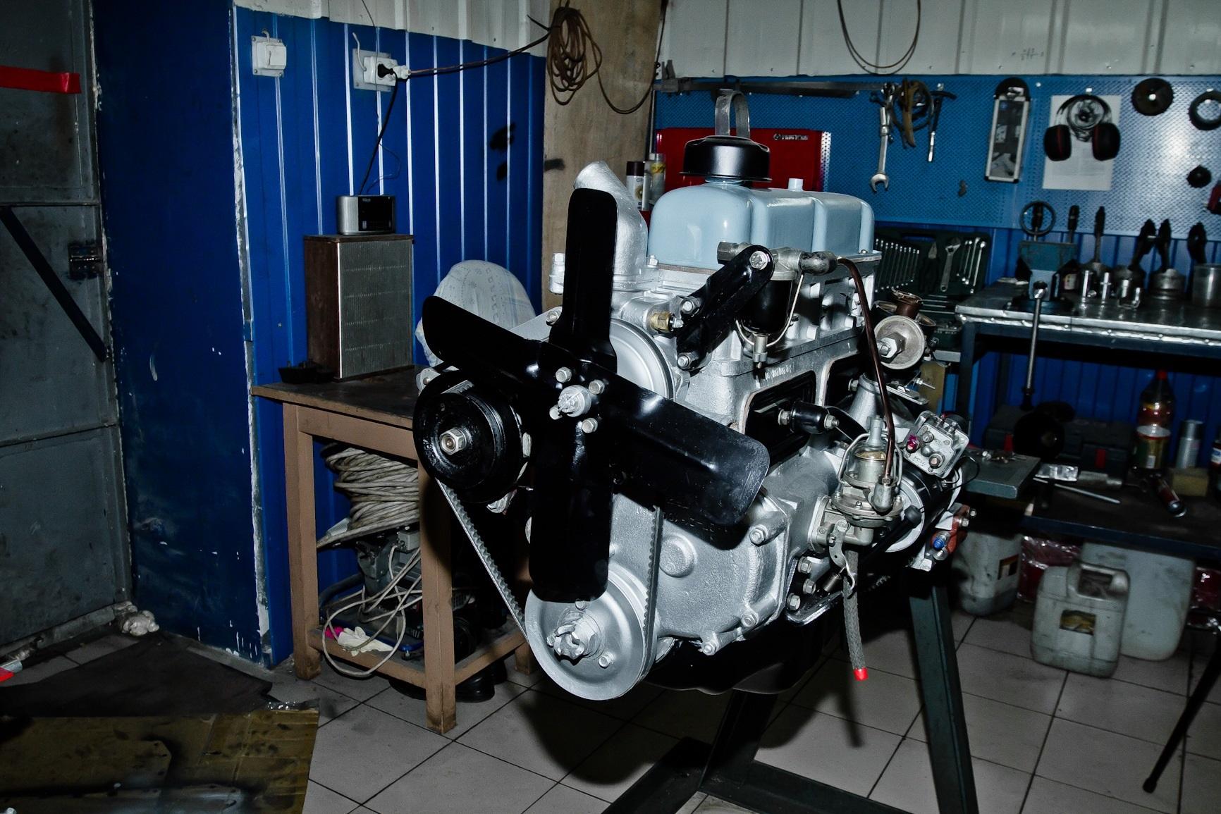 Оригинальный двигатель 21-й ЗМЗ-21