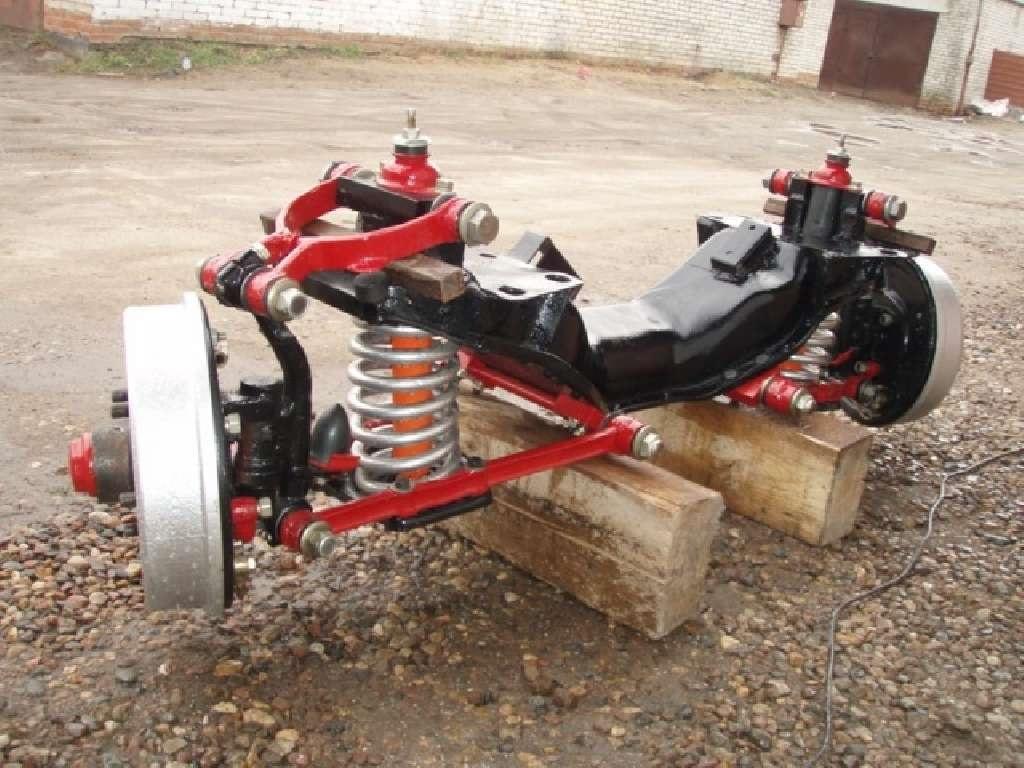 Оригинальная передняя подвеска ГАЗ-21