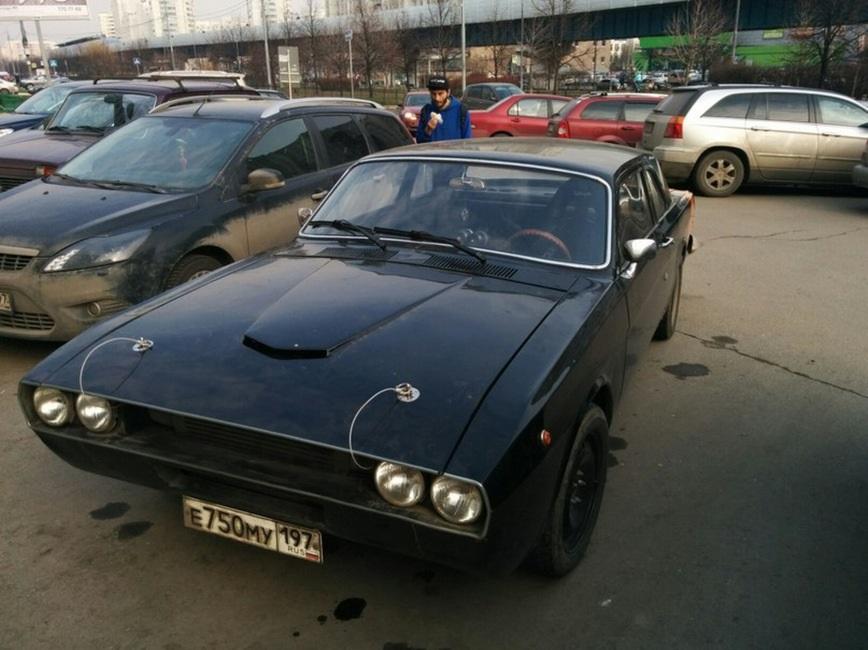 ГАЗ 24 под Мускл Кар
