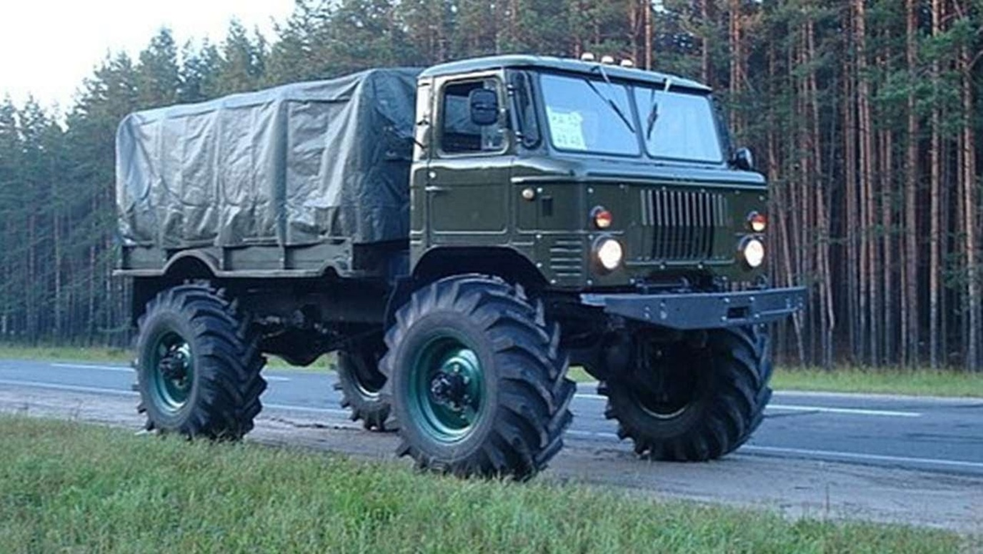 Тюнингованный ГАЗ 66