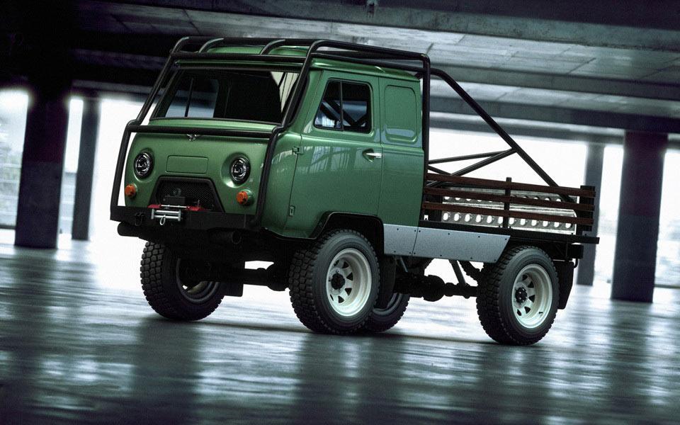 Тюнингованный УАЗ 3303