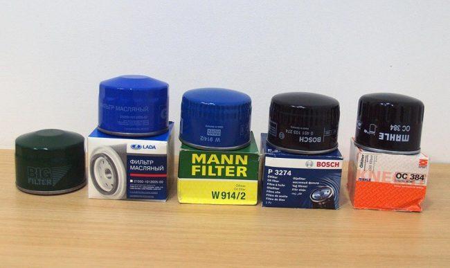 Масляные фильтры для автомобиля ВАЗ 2109