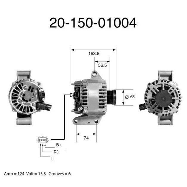 Фирменный генератор 20-150-01004