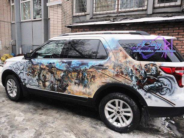 Тюнинг Ford Explorer V