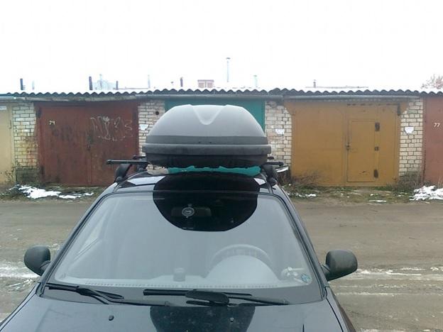 Автомобильный бокс на крышу