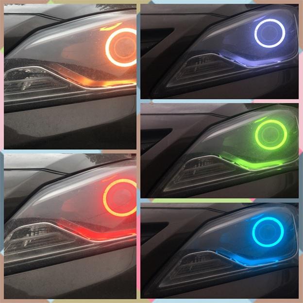 Ангельские глазки на RGB светодиодах