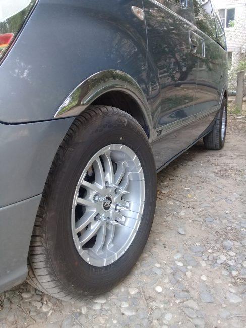 Тюнингованные крепления колес