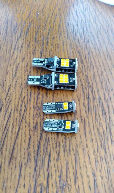 Платы со светодиодами для поворотников